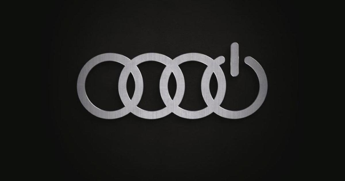 Audi красноречиво донесла сообщение о том, что выпускает электроавтомобили