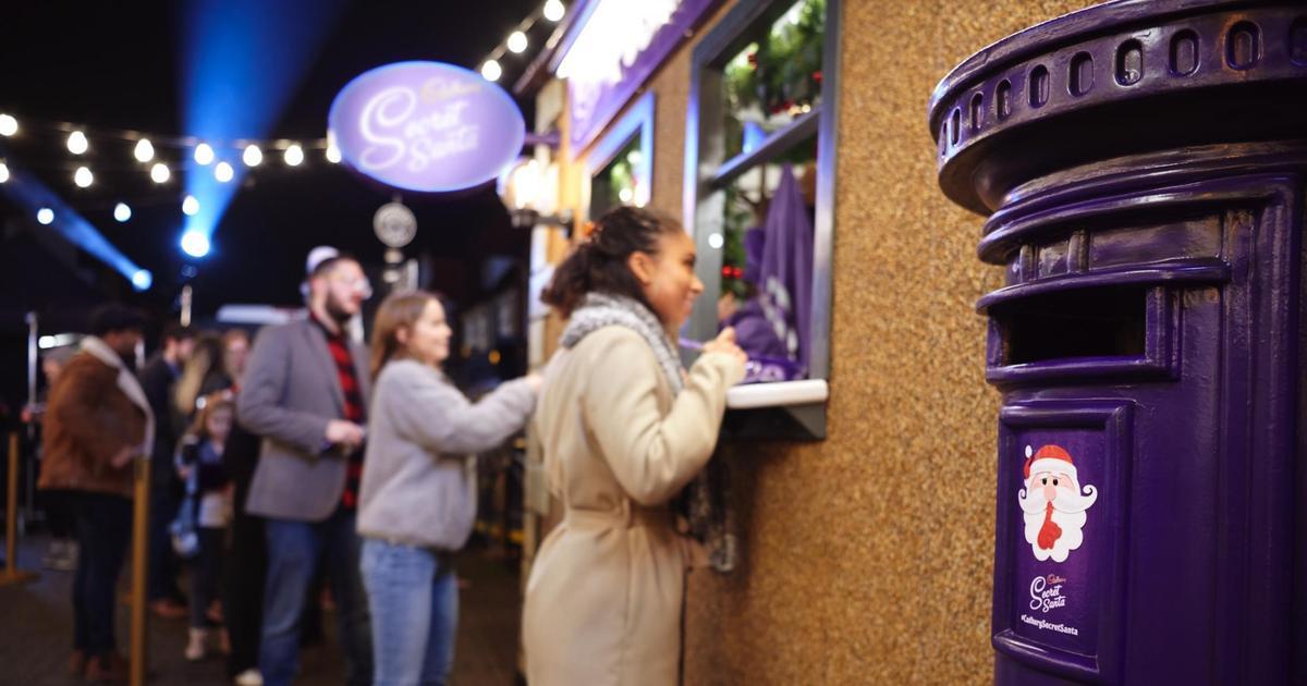 Cadbury запустила почтовый сервис Тайного Санты