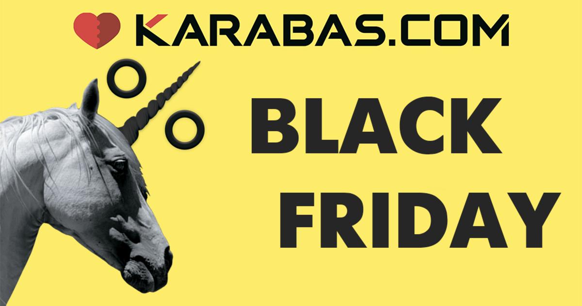 Хватай скидки за рога: Karabas устроил распродажу билетов в честь Черной пятницы