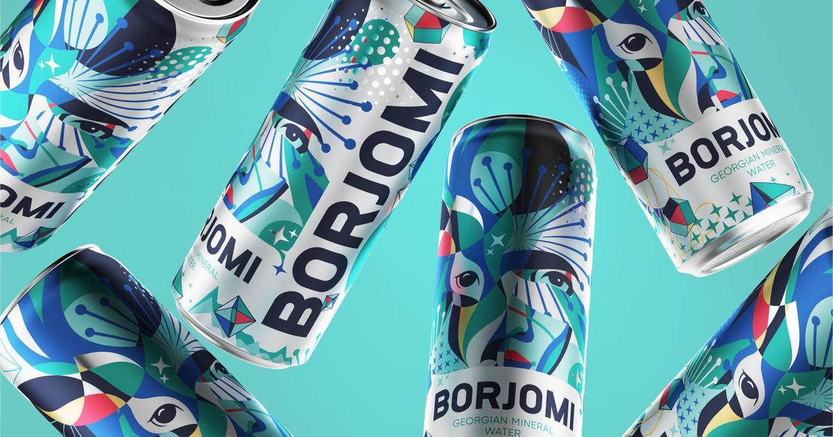 «Боржомі» запустила новий святковий дизайн, щоб надихнути українців насолоджуватися моментом