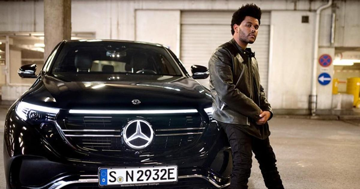 The Weeknd стал креативным директором новой кампании Mercedes