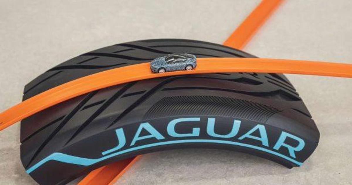 Новий Jaguar F-TYPE перетворився на модель Hot Wheels