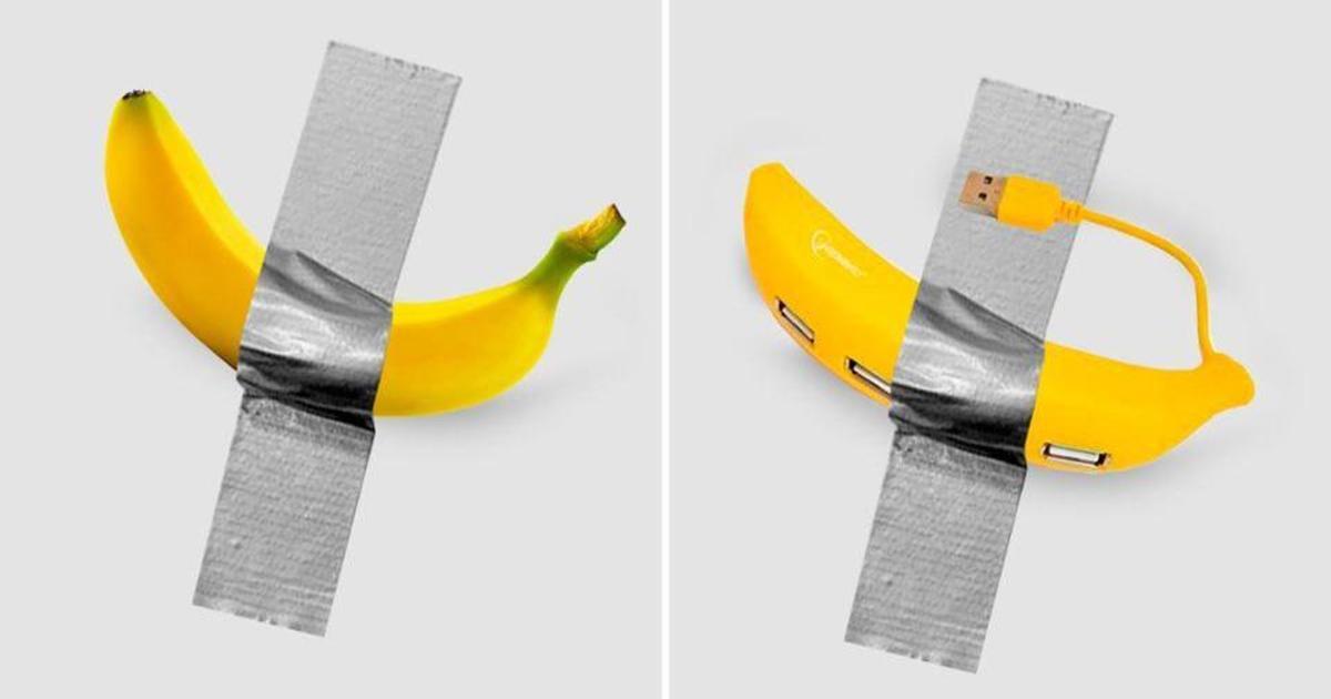 Как украинские бренды использовали шумиху вокруг арт-банана