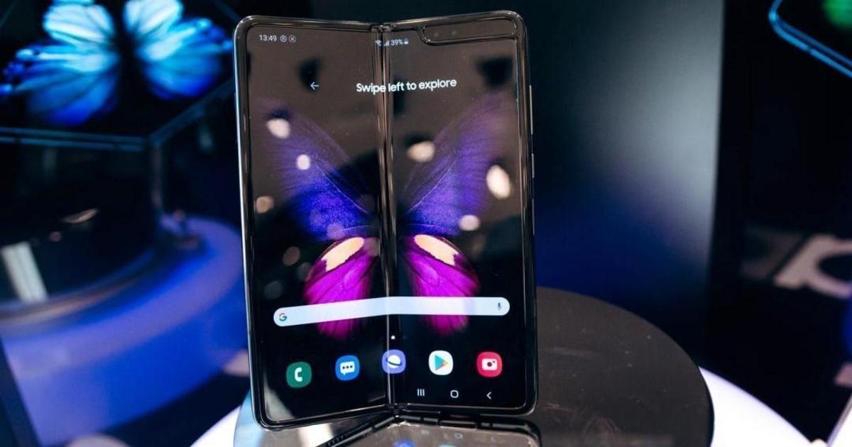 Samsung Electronics презентувала в Україні перший смарфтон з гнучким екраном Galaxy Fold