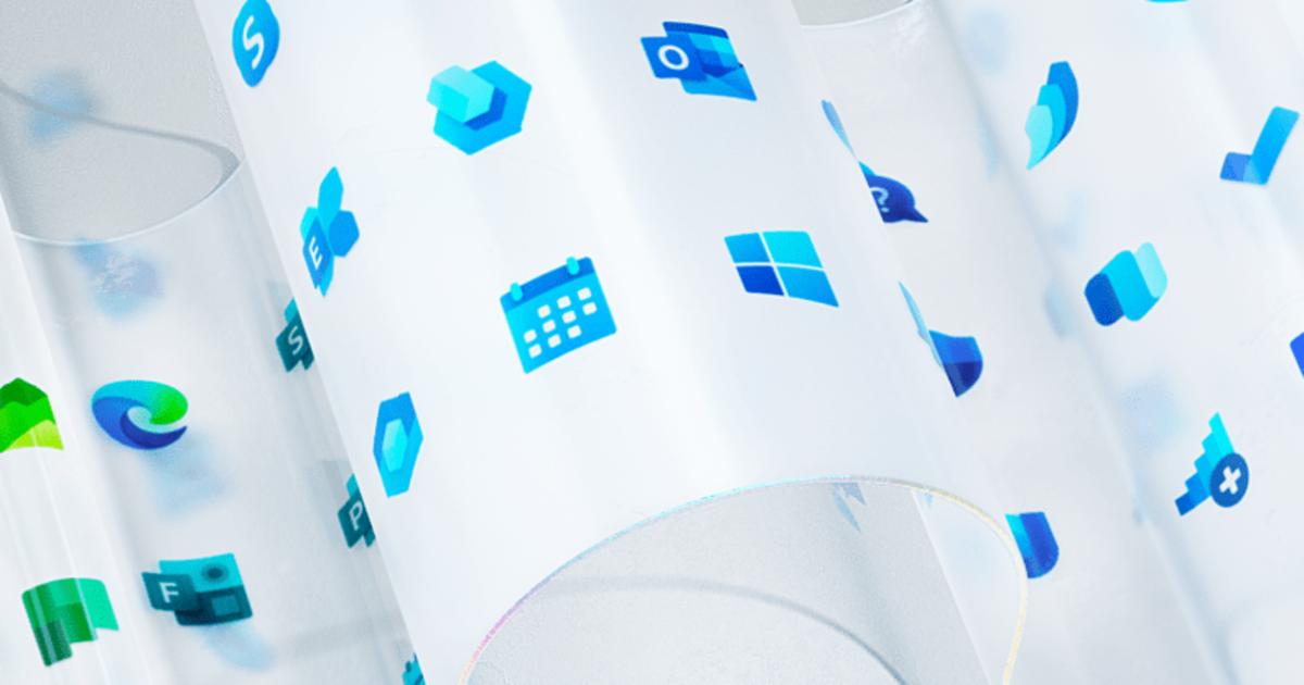 Microsoft показал редизайн 100 иконок, включая лого Windows