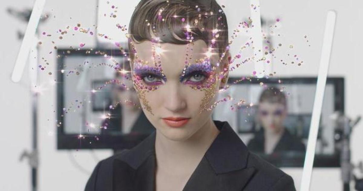 Dior запустил AR makeup фильтр в Instagram для промо новой коллекции