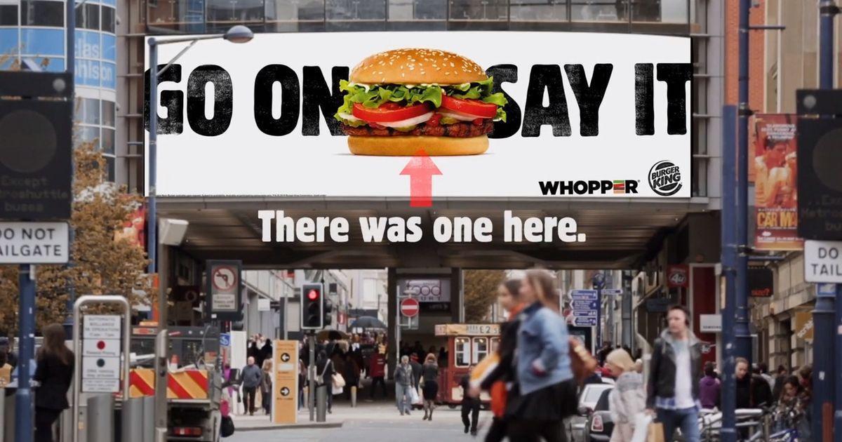 Burger King потроллил McDonald's в каждой рекламе в 2019 году