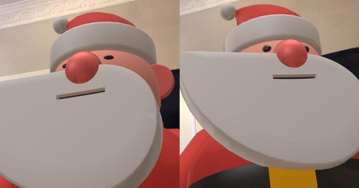 Google поможет пригласить гигантского AR Санту в дом