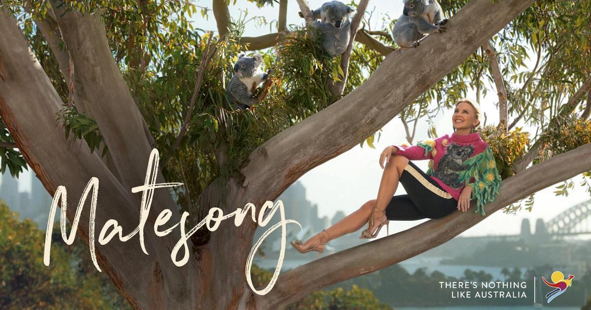 Австралия запустила масштабную туристическую кампанию с Кайли Миноуг