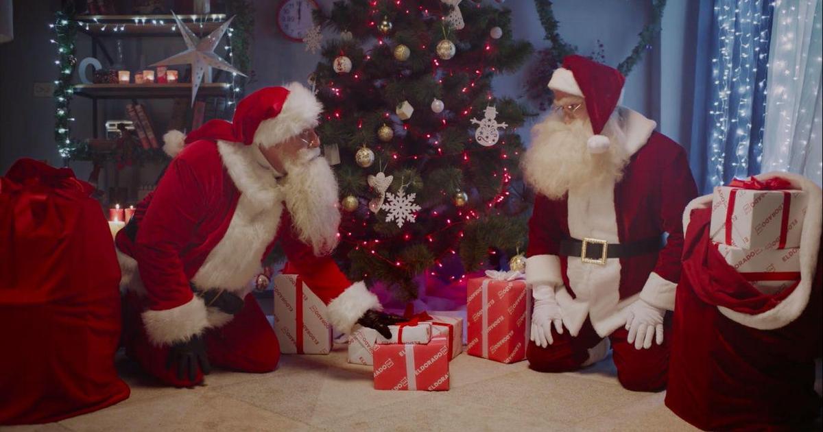 BBDO Ukraine создали для Eldorado ролик с двумя Сантами