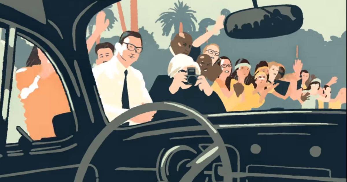 Volkswagen попрощался со знаменитым «жуком» в анимированной рекламе