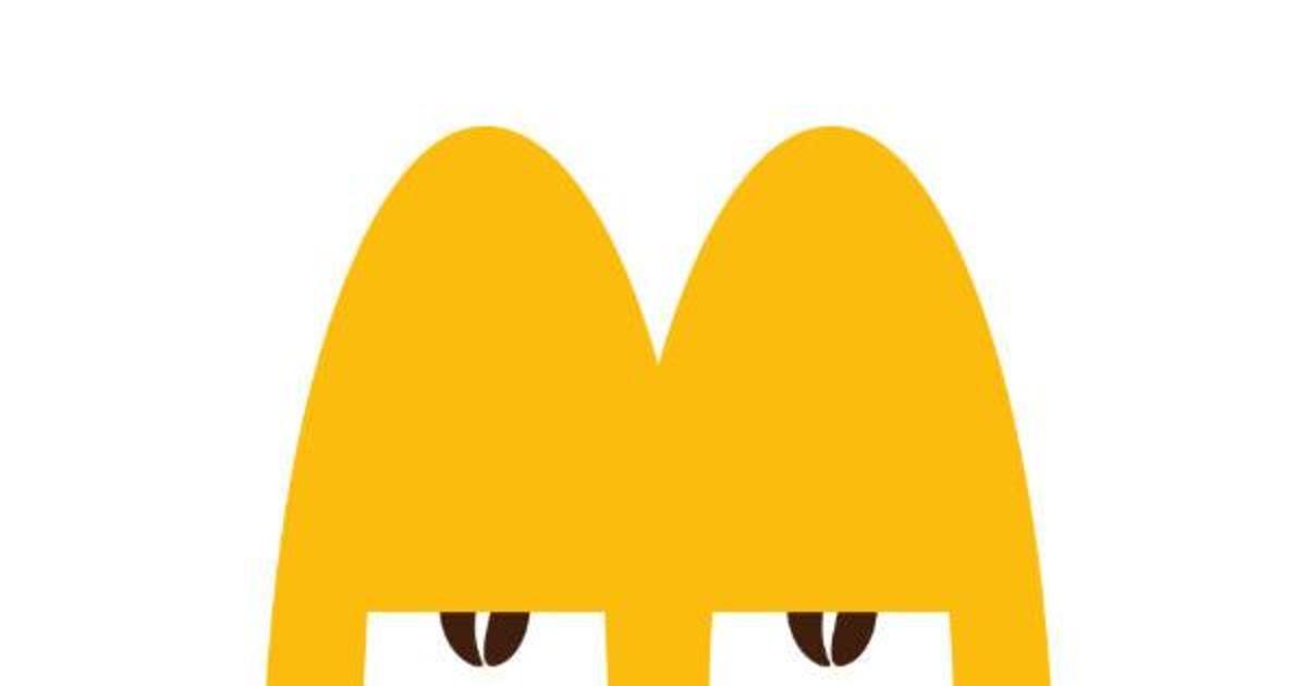 McDonald's оживил свой логотип в игривой кампании для McCafé