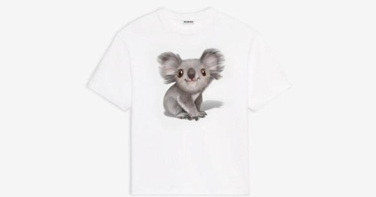 Balenciaga выпустила футболки, чтобы помочь Австралии бороться с пожарами
