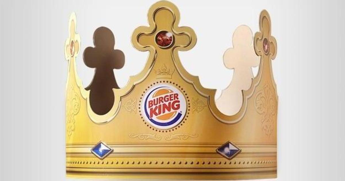 Burger King призвал Меган Маркл и принца Гарри примерить другие короны