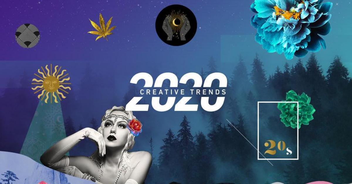 Ревущие 2020-е: Shutterstock назвал креативные тренды