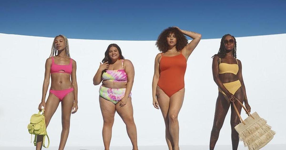 Модель с заболеванием кожи прорекламировала новую коллекцию купальников Target