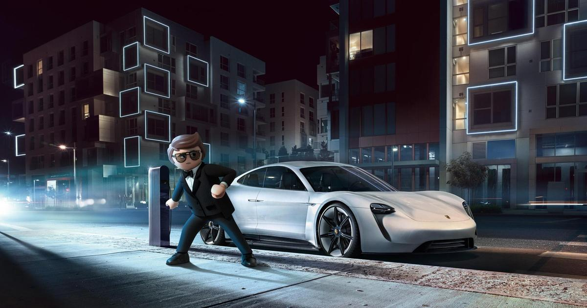 Концепт-кар Porsche покажут в мультфильме «Playmobil: The Movie»