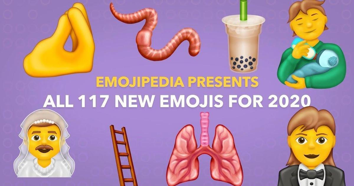 Консорциум Юникода представил 117 новых эмодзи для 2020 года