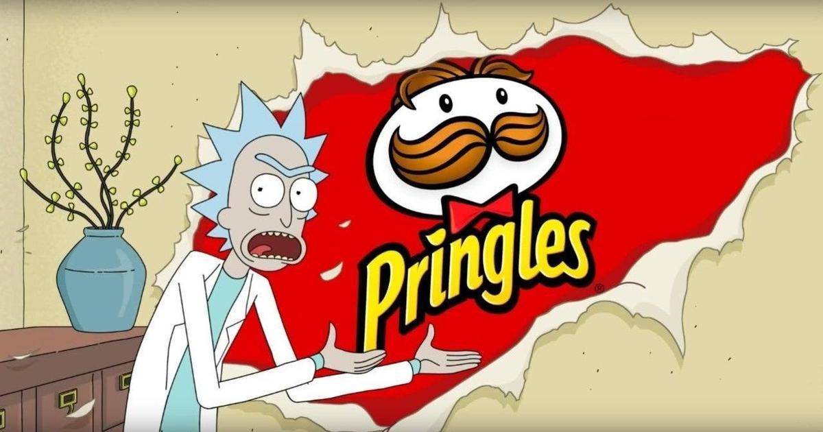 Рик и Морти застряли в рекламе Pringles