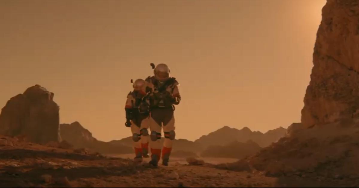 SodaStream обнаружила воду на Марсе в ролике для Super Bowl