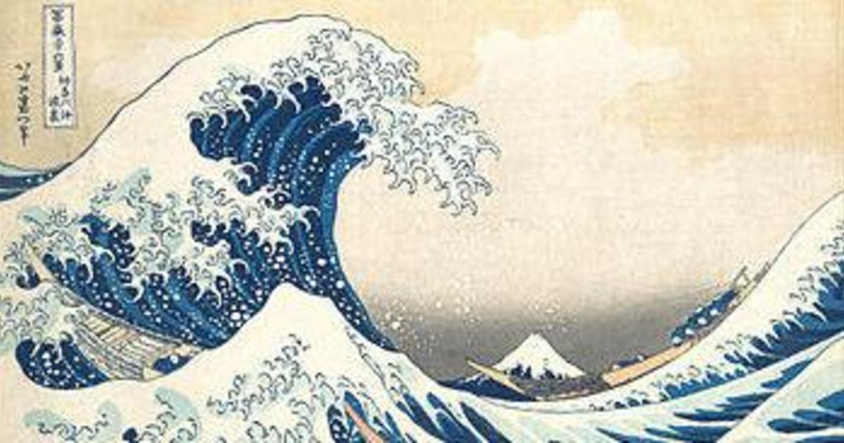В японском паспорте теперь изображены гравюры Хокусая