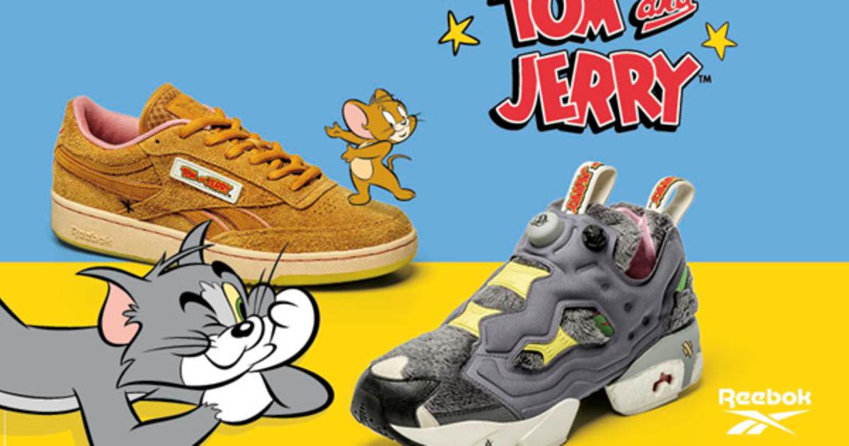Reebok анонсировал коллекцию, посвященную Тому и Джерри