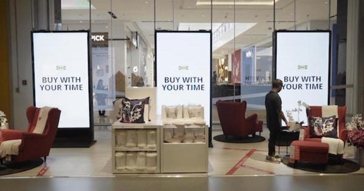 IKEA позволила расплатиться за товар временем, потраченным на дорогу в магазин