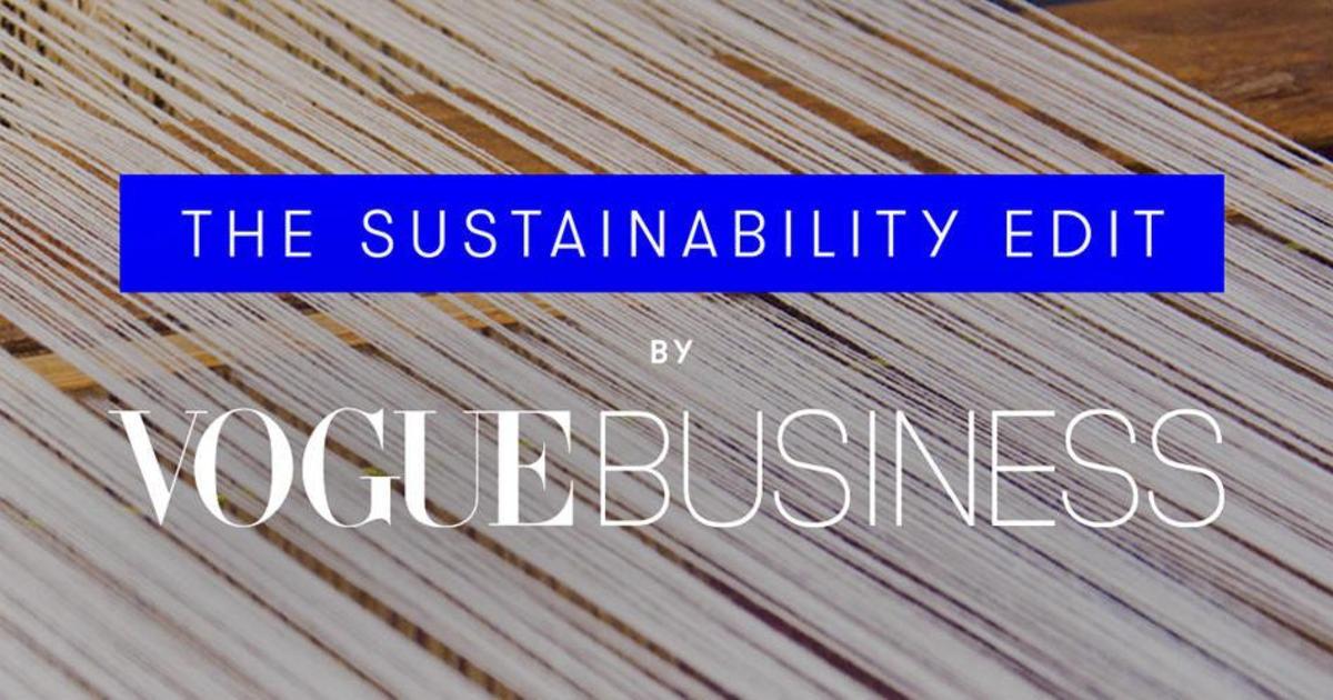 Vogue запускает еженедельник об устойчивом развитии для инсайдеров моды