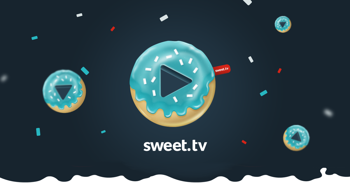 Sweet TV получил вкусный редизайн логотипа
