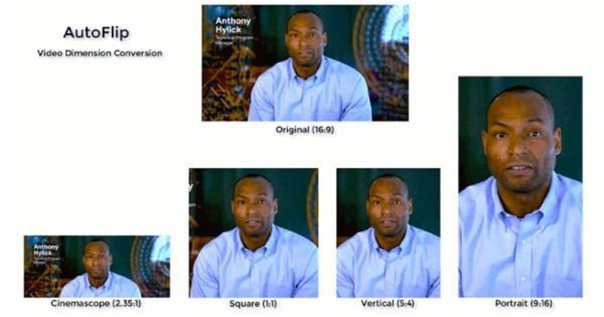 Новый инструмент Google адаптирует видео под любой формат
