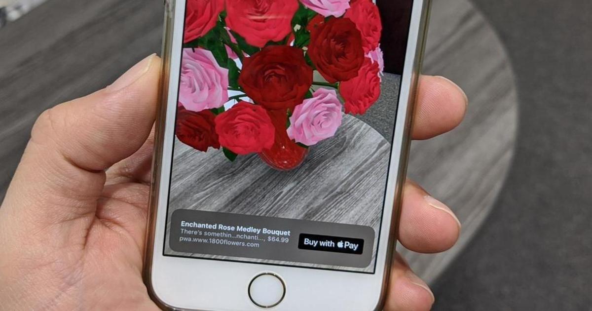 Apple позволит совершать покупки в дополненной реальности