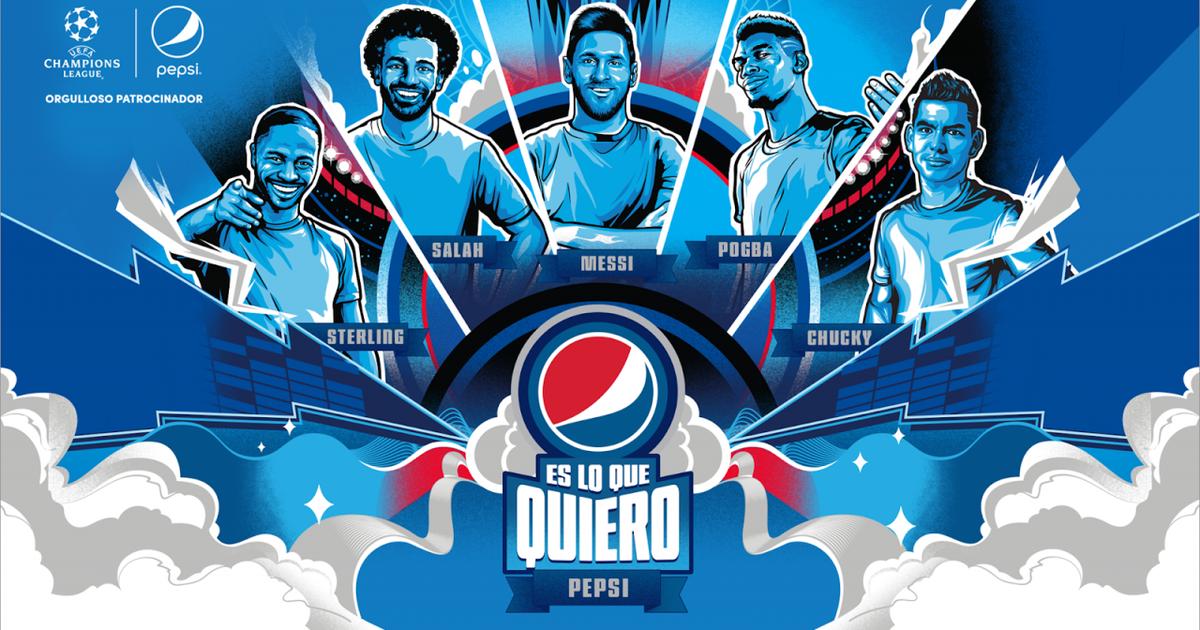 Pepsi запустила глобальную футбольную кампанию
