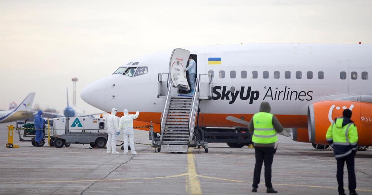Эвакуации из Уханя: SkyUp Airlines показали пример правильной коммуникации