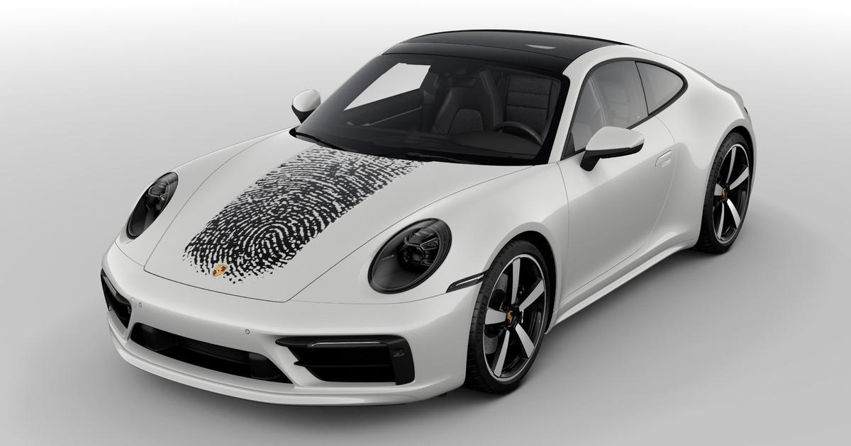 Porsche предлагает персонализировать авто с помощью отпечатка пальца