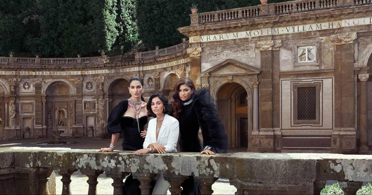 Bvlgari прогулялся по Риму в глобальной кампании