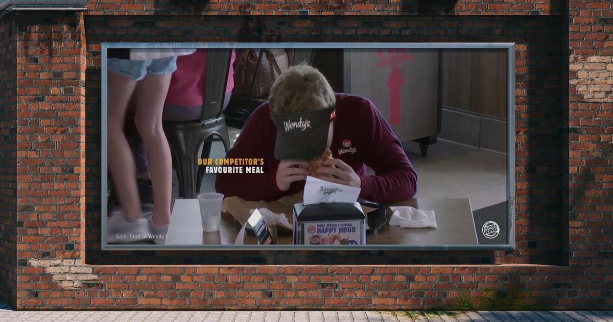 Burger King подсмотрел, что едят сотрудники его конкурентов