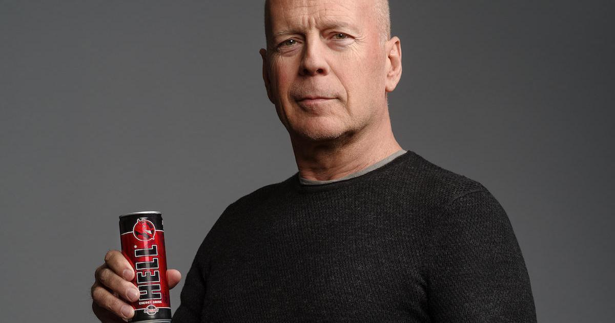 HELL вновь запустит рекламную кампанию с Брюсом Уиллисом