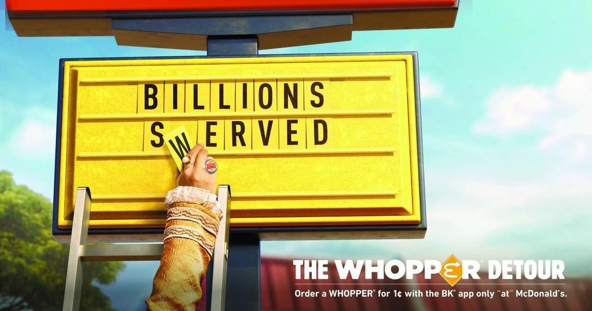 WARC Creative 100. Кампания для Burger King признана самой креативной в 2019 году