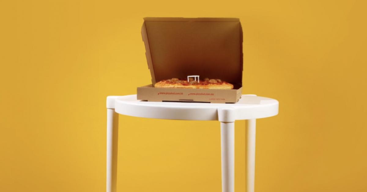 IKEA выпустила столы для пиццы в рамках коллаборации с Pizza Hut