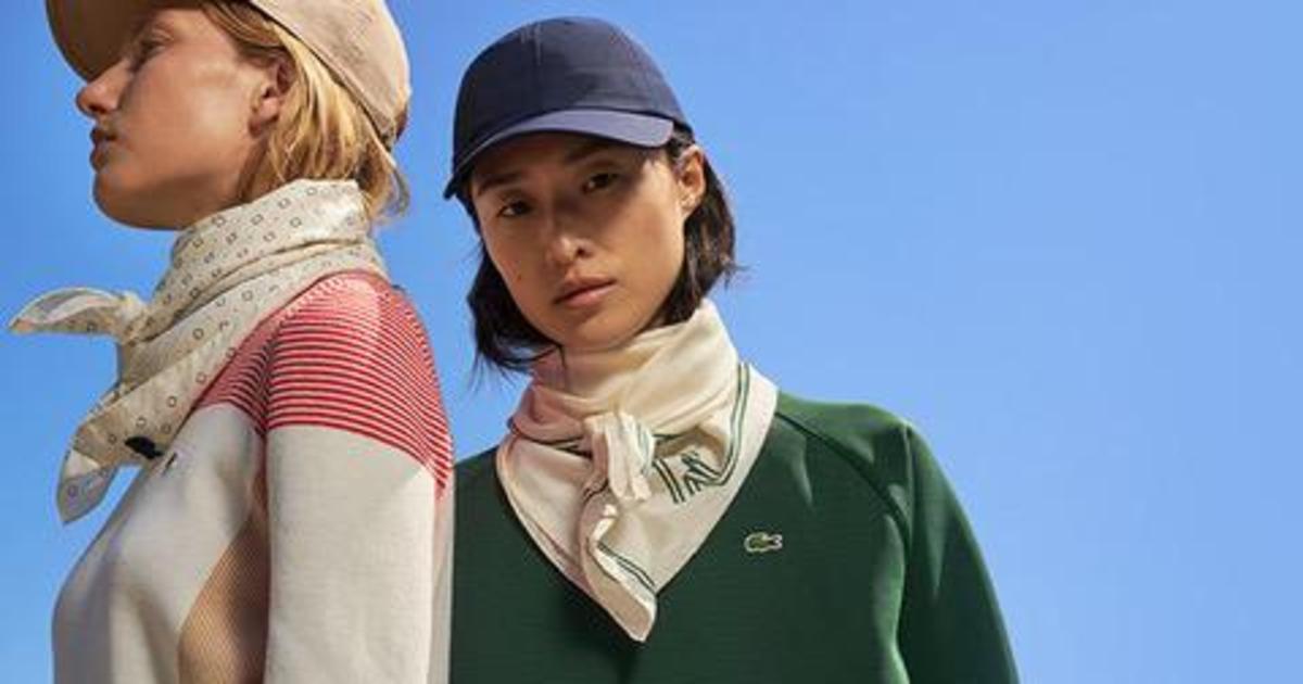 Lacoste впервые выпустил коллекцию исключительно для женщин