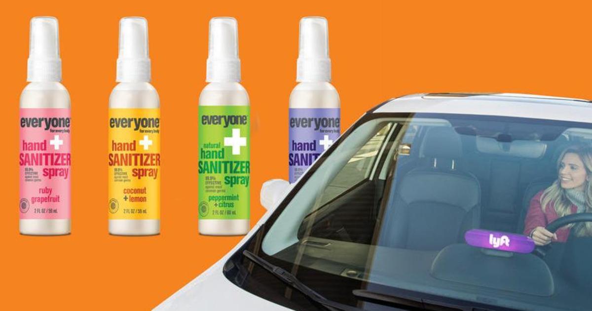 EO Products и Lyft объединились, чтобы защитить водителей такси от коронавируса