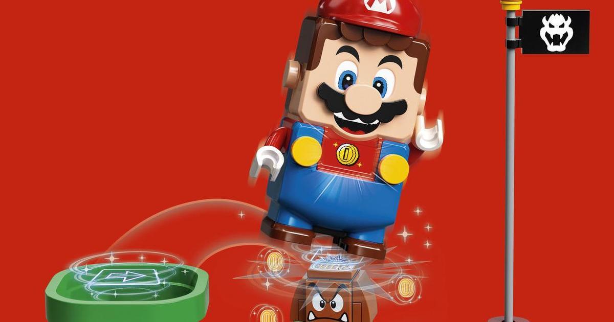 LEGO Group и Nintendo вместе создадут новую серию конструкторов
