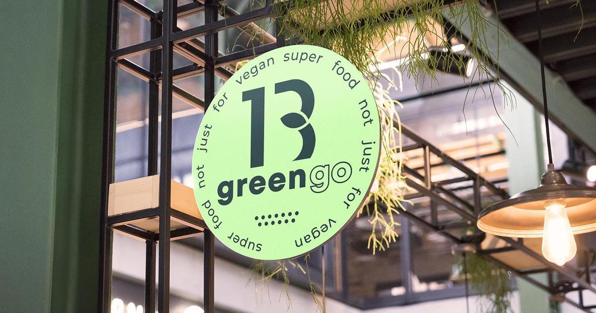 Tasty food not just vegan: Ребрендінг веганського кафе Green 13