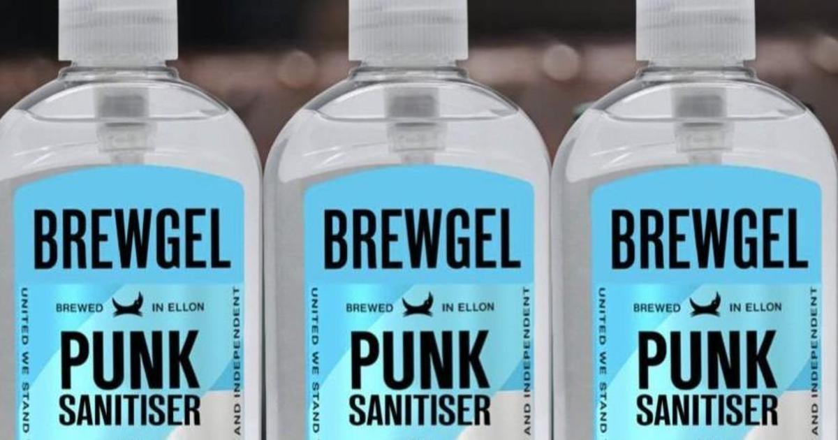 Пивной бренд BrewDog начал производить санитайзеры ради борьбы с коронавирусом