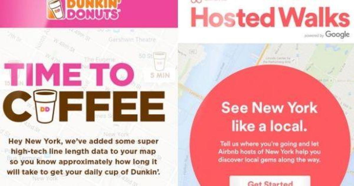 Dunkin' Donuts и Airbnb нацелились на туристов во время Advertising Week.