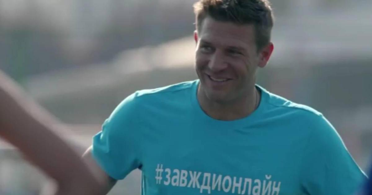 Андрей Воронин присоединился к 3G-кампании Киевстар.