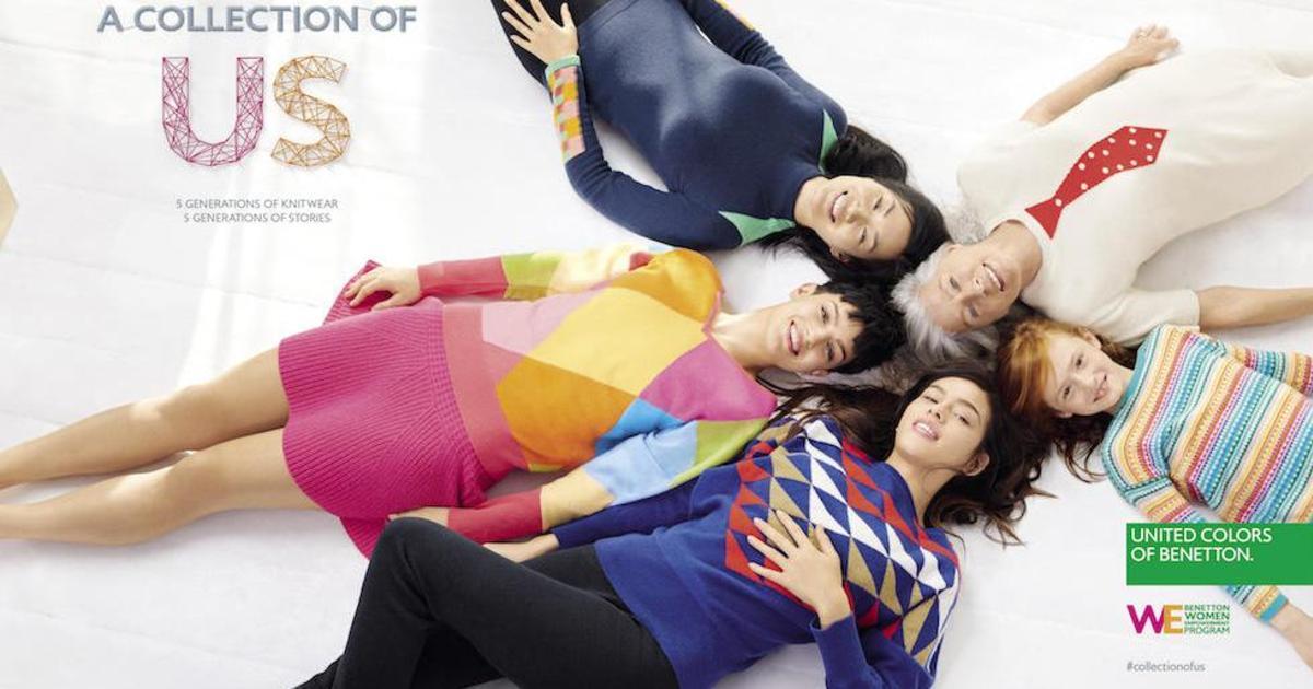 Феминистическая кампания Benetton воспела женскую эмансипацию.