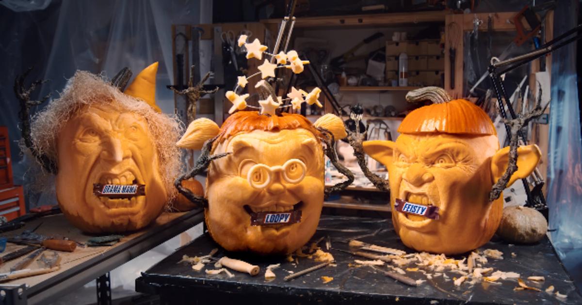 Snickers показал, как выглядит голод на Хэллоуин.