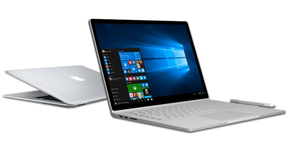 Microsoft создал сайт, чтобы пользователи MacBook перешли на Surface Book.