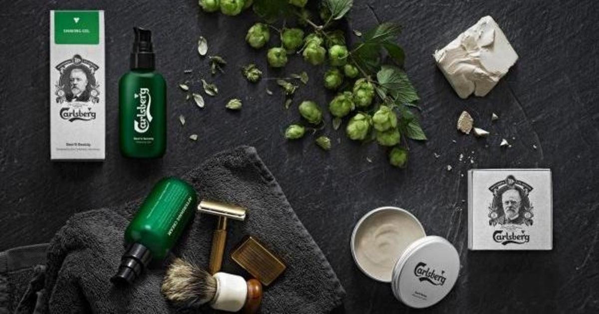 Carlsberg запустил линейку продуктов для бритья с пивом.